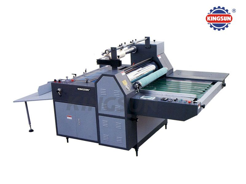 KFMB-720B920B1200B Semi-auto Glue-less and Thermal Film Laminating Machine (Pneumatic Dividing)